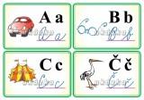Procvičovací karty - abeceda