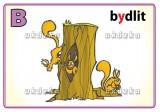 Procvičovací karty - vyjmenovaná slova BLM