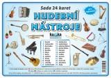 Zobrazit detail - Sada 24 karet - hudební nástroje
