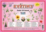 Zobrazit detail - Sada 24 karet - květiny