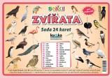 Zobrazit detail - Sada 24 karet - zvířata (ptáci)
