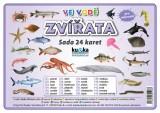 Zobrazit detail - Sada 24 karet - zvířata (ve vodě)