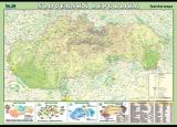 Zobrazit detail - Slovenská republika - fyzická mapa