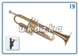 Sada 24 karet - hudební nástroje nakladatelství Kupka