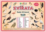 Sada 24 karet - zvířata (ptáci) nakladatelství Kupka