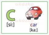 Procvičovací karty - anglická abeceda nakladatelství Kupka