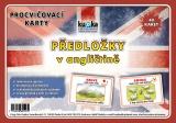 Procvičovací karty - anglické předložky nakladatelství Kupka