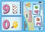 Procvičovací karty - číslice nakladatelství Kupka