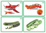 Sada 24 karet - zelenina 2 nakladatelství Kupka