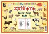 Sada 24 karet - zvířata domácí