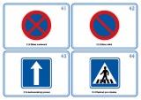 Sada 48 karet - dopravní značky nakladatelství Kupka