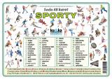 Sada 48 karet - sporty