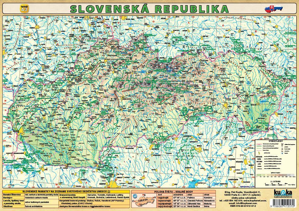 Slovenská republika (A3) nakladatelství Kupka