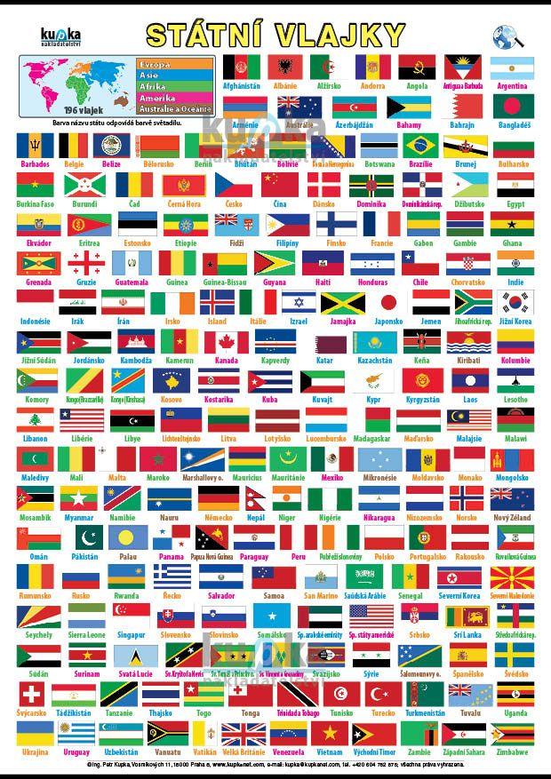Státní vlajky nakladatelství Kupka