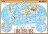 Svět - fyzická mapa