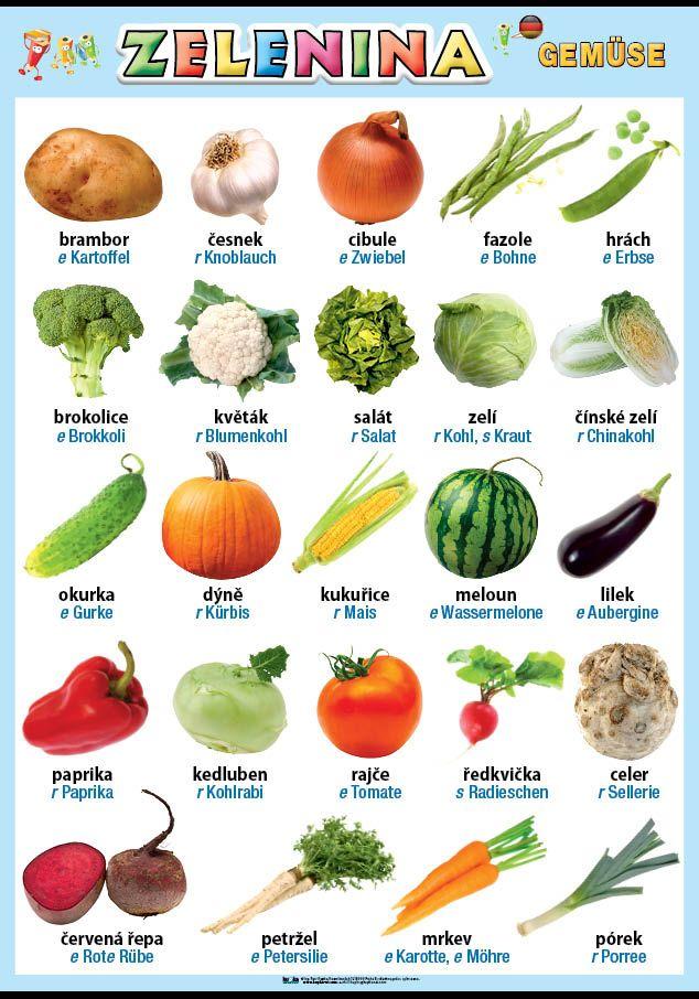 Zelenina v němčině nakladatelství Kupka